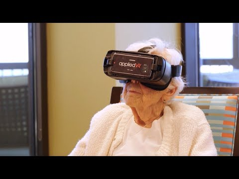 Alzheimer's and Virtual Reality Glasses (VR)