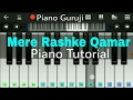 Mere rashke qamar piano lessons tutorial nusrat fateh ali khan mobile perfect pian piano guruji mp3
