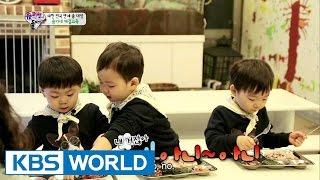 Triplets' House - Song family's etiquette lessons (Ep.72 | 2015.04.26)(For more info: http://kbsworld.kbs.co.kr/programs/programs_intro.html?no=728 ------------------------------------------------ Subscribe KBS World Official YouTube: ..., 2015-05-08T02:22:30.000Z)