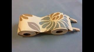 #DIY Toilet Paper Holder | Tutorial