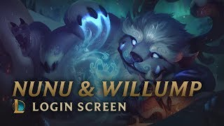 Nunu & Willump, the Boy and his Yeti | Login Screen - League of Legends