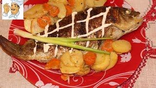 Рыба в духовке. Запеченная рыба в духовке в сметанно-горчичном соусе