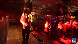 Fab Morvan (Milli Vanilli) met DJ Limoncello in Nederland, Nederweert