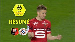 Stade rennais fc - montpellier hérault sc ( 1-1 ) - résumé - (srfc - mhsc) / 2017-18