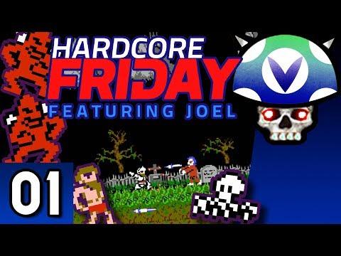 [Vinesauce] Joel - Hardcore Friday: Ghosts'N Goblins ( Part 1 )