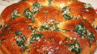 Чесночные булочки (пампушки) к борщу.Очень вкусные и ароматные.