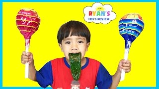 Giant Chupa Chups Lollipops Candy Review thumbnail