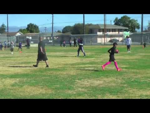 9 Year Old Anthony Robinson - 2013 Off-Season Workout