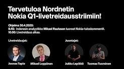 Nokian Q1-tulos + livetreidaus