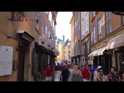Stockholm: Nick in Sweden (Slideshow 1)