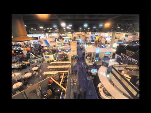 OTC 2013 Exhibition Time Lapse