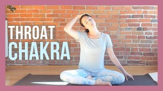 Throat Chakra Yin Yoga for Clear Communication {35 min}