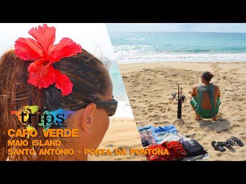 Capo Verde - Maio Island - Santo Antònio - Ponta Da Pontona - Agosto