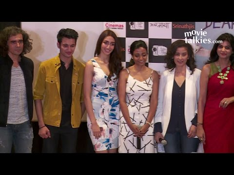 Dear Maya Movie Trailer Launch   Manisha Koirala, Imtiaz Ali, Shreya Singh Chaudhary