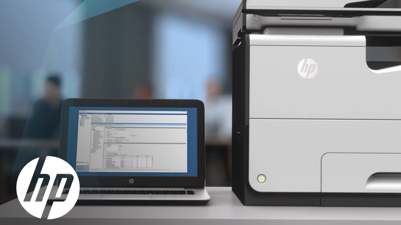 Hp Pagewide Pro Mfp 577dw Product Video Hp Pagewide Hp