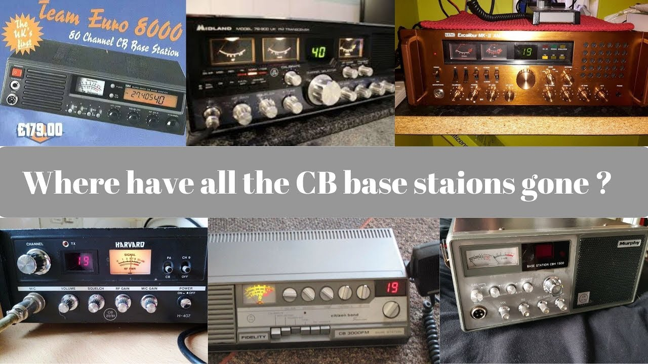 What happened to CB Radio Base Stations ? + UK 305 group action