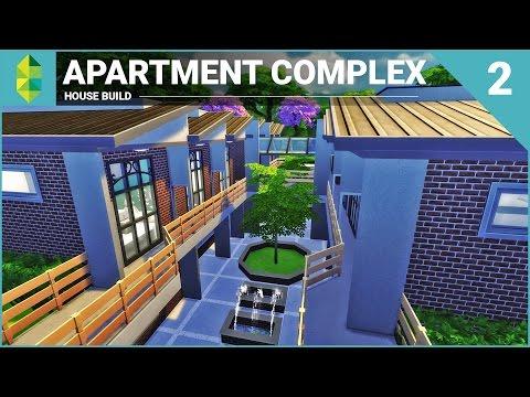 The Sims 4 House Building - Apartment Complex (Part 2)
