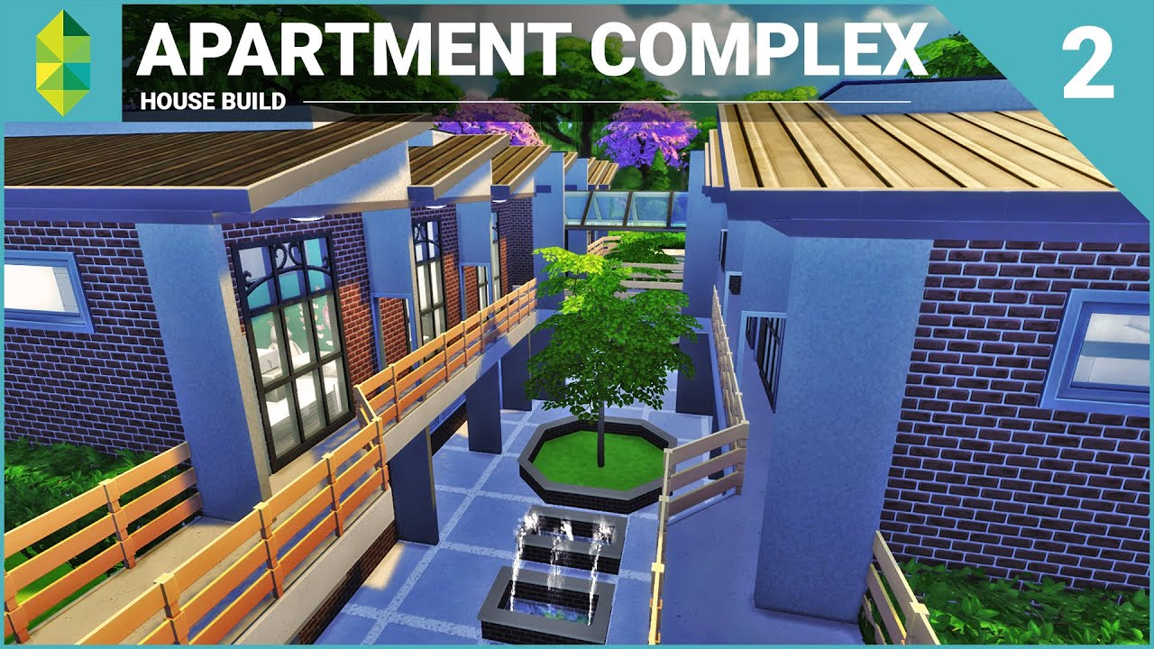 The Sims 4 House Building Apartment