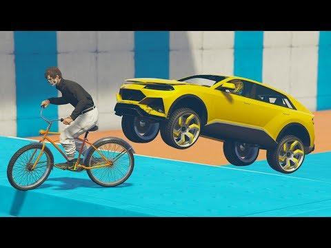 CORRE O TE ATROPELLO! VAIS A FLIPAR! - GTA V ONLINE - GTA 5 ONLINE