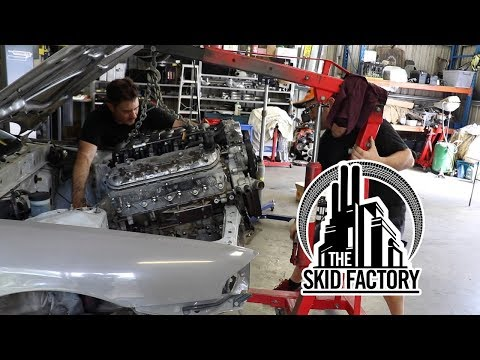 THE SKID FACTORY - Turbo LS1 R32 Skyline [EP1]