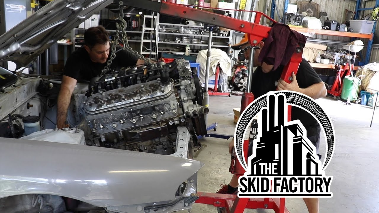 THE SKID FACTORY - Turbo LS1 R32 Skyline [EP1]