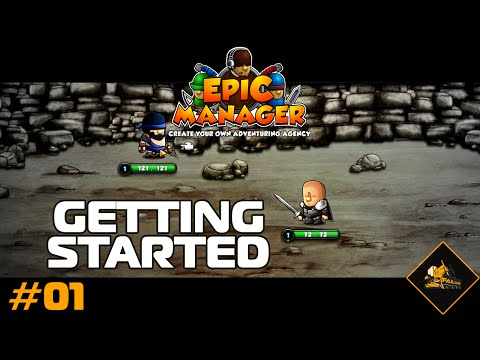 Epic Manager Gameplay Getting Started Part 1
