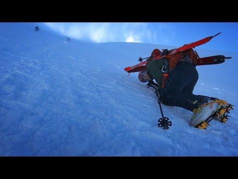 Getting Blown Off Mount Shasta!