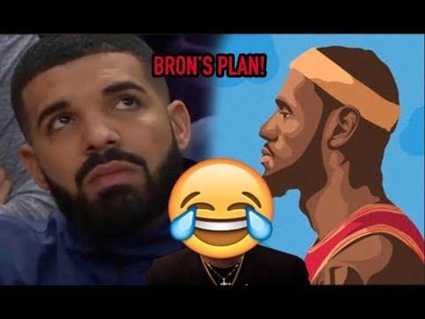 26ccee97fc62 LeBron RUNS CANADA! Drake -