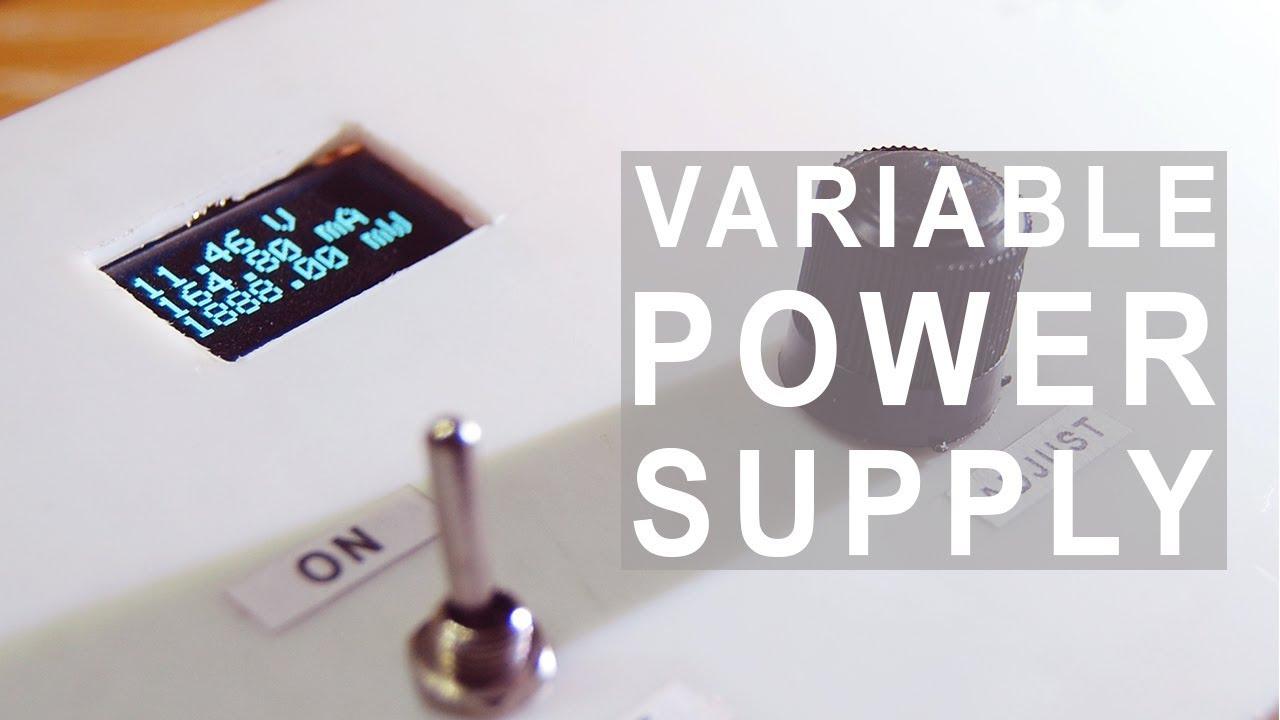 Make a Variable Power Supply | Buck Converter