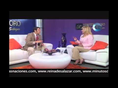 Minutos de Oro con Reina de Salazar, invitado Diputado Oscar Ernesto Novoa.