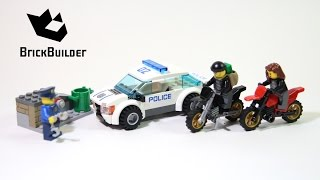 Kijk Lego City 60042 Snelle politie jacht filmpje