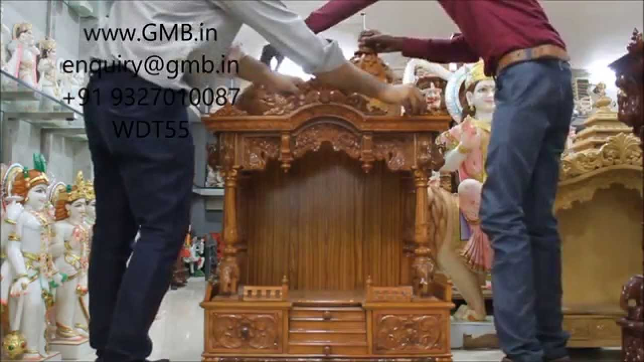 Wooden temple designs for home small temple for home wooden home - Wooden Temple India Usa Uk Australia Malaysia Singapore Youtube