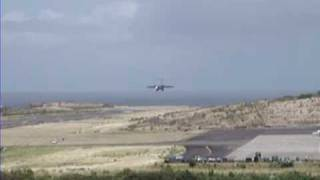 USAF C-17 Landing and Take-Off from Maurice Bishop International Airport April 22nd, 2009