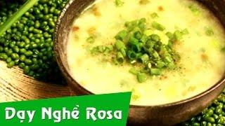 Các món cho bé ăn dặm: Nấm nấu với đậu xanh và trứng