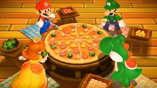 Mario Party 9 MiniGames - Mario Vs Luigi Vs Yoshi Vs Daisy (Master Cpu)