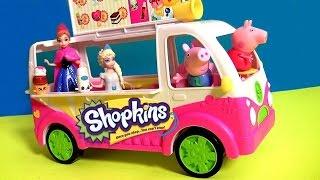 Shopkins Scoops Ice Cream Truck Playset Season3 - Camion de Helados y Sorvetes Season 3