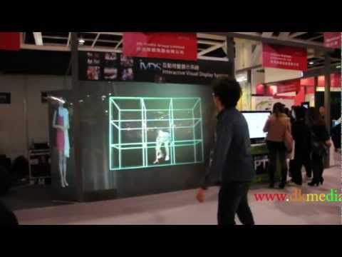 Multimedia Interactive Window Display - Production by DK Media