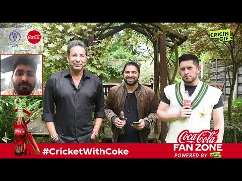 World Cup 2019: Coca Cola Fan Zone powered by Cricingif
