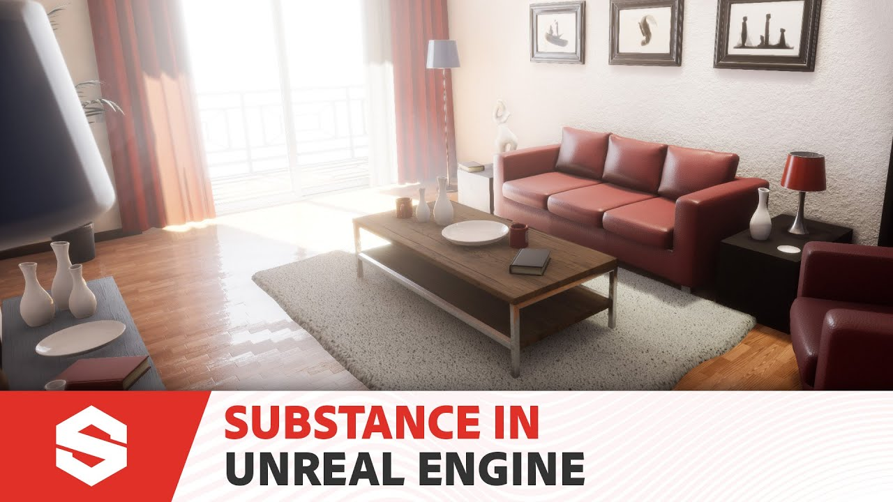 Substance Painter Unreal Engine Livelink - Evermotion