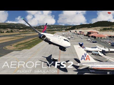AEROFLY FS 2 I First Look  ★ Orbx - Eagle County Colorado [Deutsch/HD]