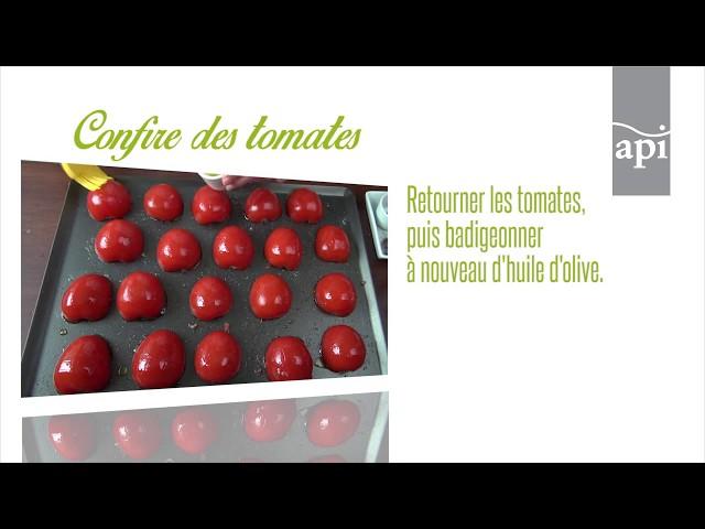 Confire des tomates