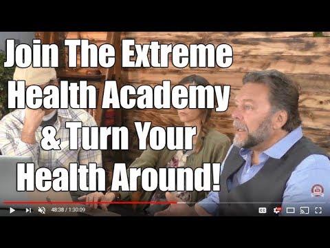 Dr. John Bergman - Extreme Health Radio Health Challenge #1