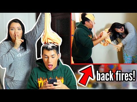 Slime Prank *GONE WRONG* backfires!