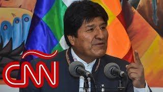 Evo Morales: Ya ganamos la primera vuelta en las elecciones de Bolivia