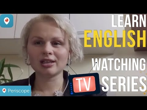 Learn English watching TV Series Aprende Inglés viendo series