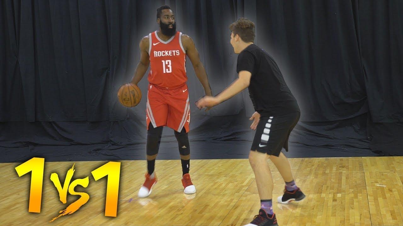 9786664b9ae 04 12 1 V 1 BASKETBALL VS NBA SUPERSTAR JAMES HARDEN!