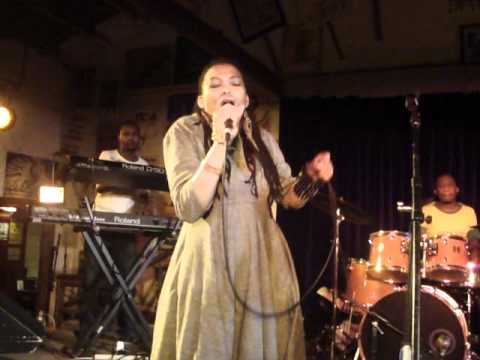 Nkulee Dube (daughter of South Africa's Lucky Dube) performing live at Ashkenaz  - July 23 2011 (3)