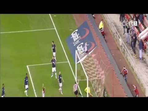 Goal Phillip Bardsley | Sunderland vs Manchester United 2 - 1 || Capital One Cup 7 1 2014