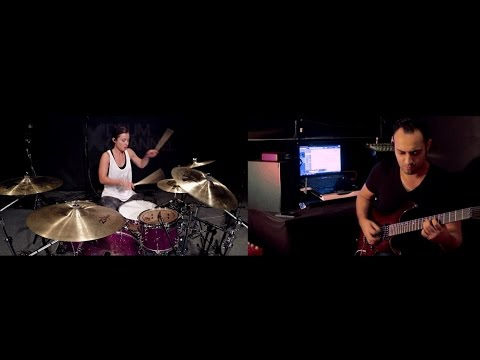 Sia - Chandelier Guitar Cover by Sherif Salim & Drums by Lindsey Raye
