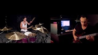 Download Video Sia - Chandelier Guitar Cover by Sherif Salim & Drums by Lindsey Raye MP3 3GP MP4